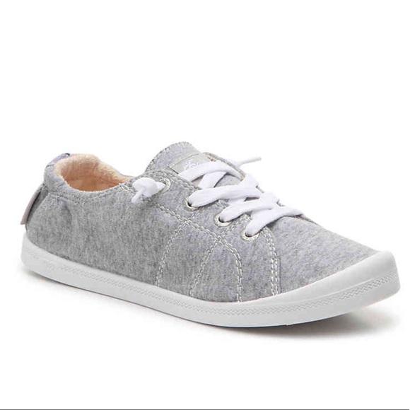 a93cdd765179 Roxy Bayshore III Slip-On Sneaker in Light Grey. M 5b5a6d2e7c979df38509037e